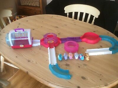 Little Live Pets 6 Mice, House Playset Wheel, And Track