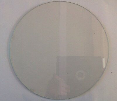 Clock Glass Round Flat 250mm Wall Clock Spare Part Small Flat 5mm Chip