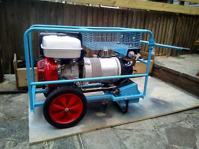 Factair Petrol Compressor (Blown Fibre Compressor 6A PED) - Hydrovane 502