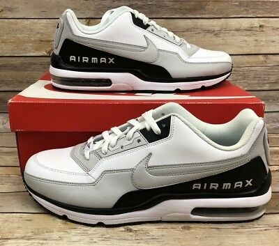 new product 5a1cd 81c8c ... Nike Air Max Ltd 3 687977 103 White neutral Grey-Black Men Us Sz ...