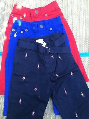 Joblot Ralph Lauren Polo baby trousers/pants size 9 months RRP £170