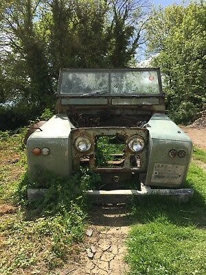 Land Rover Series 2A Chassis Bulk Head Rear Tub Project Spares or Repair