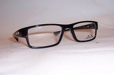 NEW OAKLEY EYEGLASSES AIRDROP OX 8046 8046-02 BLACK INK 55mm RX AUTHENTIC 804602