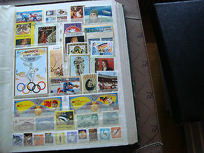 MIDDLE EAST - 36 stamps canceled (all state) stamp