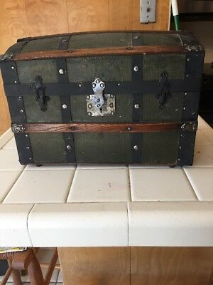 Antique Dome Top Doll Trunk