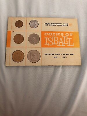 Coins Of Israel - Proof-like Issues 1966
