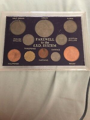 Farewell To The LSD System - Coin Set From Great Britain