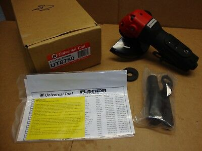 "NEW Universal Tool Florida Pneumatic UT8780 4.5"" HD air Grinder 11,000-RPM"