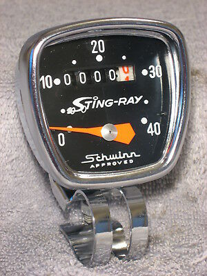 Schwinn Sting-Ray Krate Huret Vintage Bicycle Bike Speedometer Speedo Head