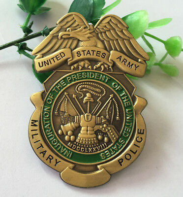 UNITED STATES ARMY MILITARY POLICE METAL INSIGNIA BADGE PIN Army Medal D-D 281