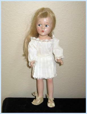 "Vintage Madame Alexander 9"" WENDY ANN Composition Doll,  Blonde 1930s + BONUS"