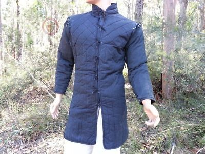 Birthday gift Thick Padded Gambeson Jacket movies theater costume  nkl
