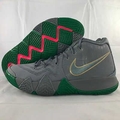 f3f3696c0a7c Nike Kyrie 4 City of Guardians Cool Grey White Green 943806-001 Men s 11 NEW