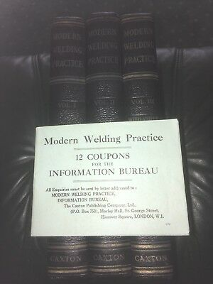 3 Vintage Welding Books With Other