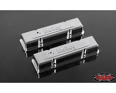 RC4WD 1/10 Holley Chrome Valve Covers for Scale V8 Engine RC4ZS1500