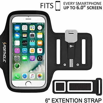 Arm Band for iPhone X 8 Plus 7 6 6s Samsung Armband Portholic Cell Phone Workout