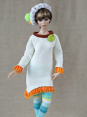"Tonner Cami Antoinette outfit ""Pretty in cream"" handmade dress 16"" fashion doll"