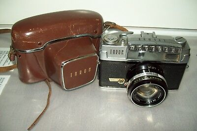 Taron Eyemax 35 mm camera from 1961 works. Made in Japan
