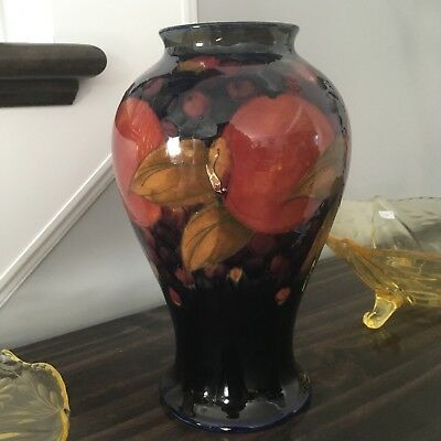 Large Moorcroft Pomegranate Vase 1928 -1943