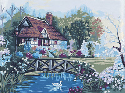 English Cottage Tapestry To Stitch