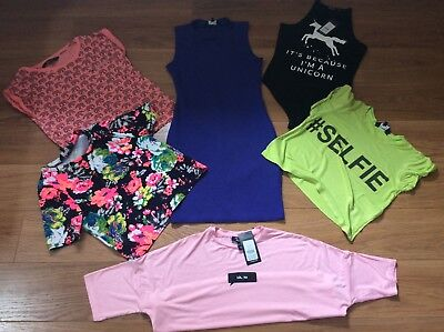 6 Piece Girls New Look Bundle Age 11-12 2 Items New With Tags.