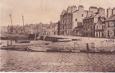 Early Orkney postcard The Harbour Kirkwall. Leonard's c.1920.