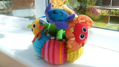 LAMAZE SOFT Chime Garden Musical Playing Toy Babies Textured Games