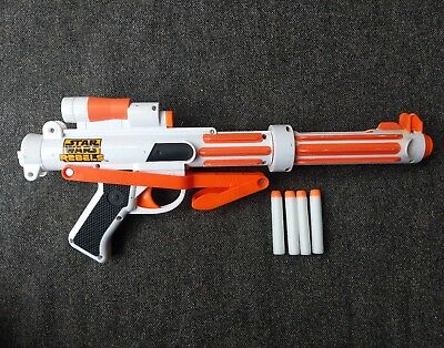 NERF STAR WARS REBELS STORMTROOPER BLASTER gun inc darts FORCE AWAKENS 663