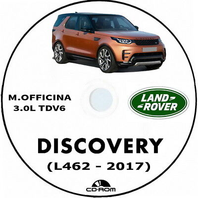 Manuale Officina Land Rover Discovery 5 (L462) anno 2017.Workshop Manual L462.