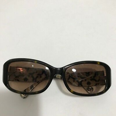 coach sunglasses women used Tortoise S2009 Brown Gradient Lenses Rectangle