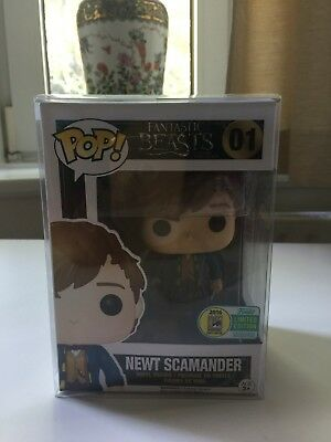 Funko POP Newt Scamander Suitcase Koffer #01 Fantastic Beasts SDCC Exclusive !