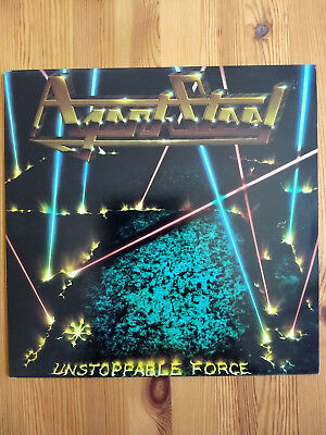 AGENT STEEL - Unstoppable Force - Vinyl/LP (1986, Music For Nations MFN 66, OIS)