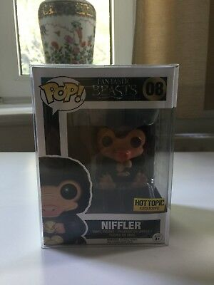 Funko POP Niffler (flocked) Fantastic Beasts Exclusive Hot Topic Sticker #08