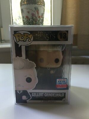 Funko POP! Gellert Grindelwald #13 Fantastic Beasts NYCC Exclusive !