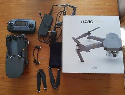 DJI Mavic Pro Drone with 4K Camera - Grey little use excellent condition