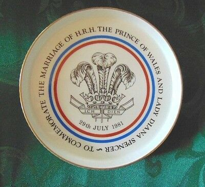 Prince Charles & Lady Diana Marriage Commemorative Shortbread Dish