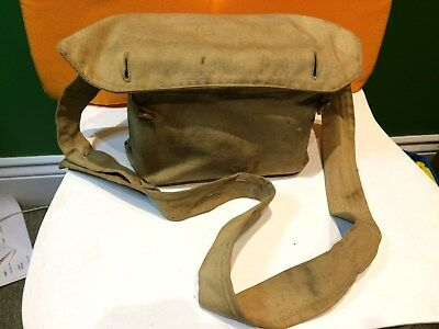 Vintage Box Brownie No 2A Model B Canadian Made With Period Canvas Bag