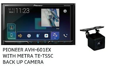 NEW Pioneer Double Din AVH-601EX HD Radio DVD Touch Screen With Backup Camera