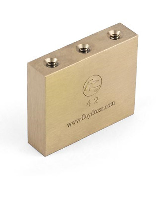 Floyd Rose Fat Brass 42mm Tremolo Block,       (free & fast postage)