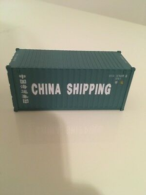 Walthers Container 20ft China Shipping 1:87