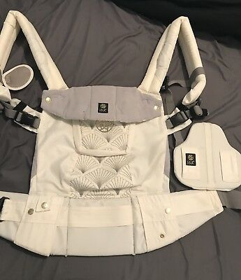 Lillebaby 6 In 1 Complete Embossed Luxe Baby Toddler Carrier In Brilliance