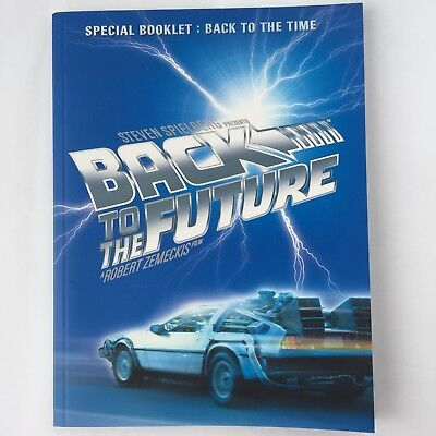 BACK TO THE FUTURE 20th Anniversary Item Special Memorial Booklet 2005