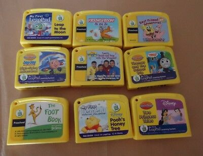 Lot of Leap Frog My First Leap Pad Game Cartridges Leapfrog Leadpad
