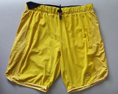 LA SPORTIVA AELOUS Men 2in1 Shorts kurze Hose M / 48 Running Jogging