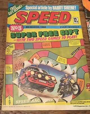 SPEED Vintage Comic..8th March 1980