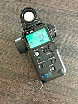 Sekonic L-758Cine DigitalMaster Light Meter - Great Condition