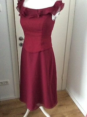 Abendkleid/Ballkleid Bordeaux Gr.38