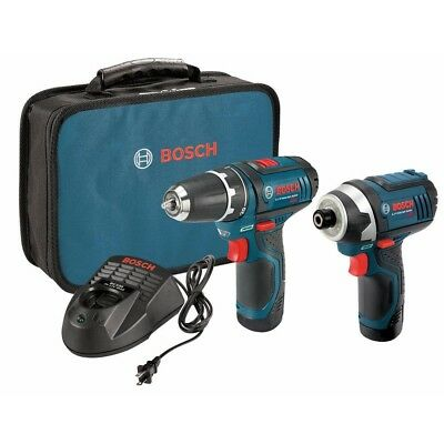 Bosch CLPK22-120 12-Volt Max Lithium-Ion Drill and Impact Driver Combo Kit