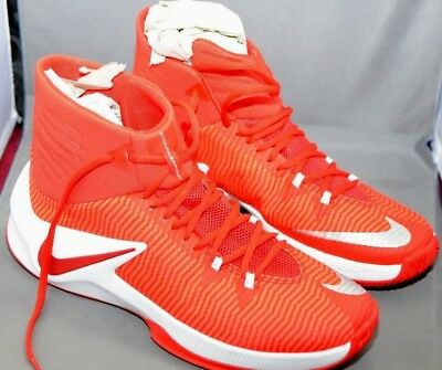 ae044a3aac161 NIKE MEN'S ZOOM Clear Out TB - New Red Basketball Shoes 844372 666 Size 11