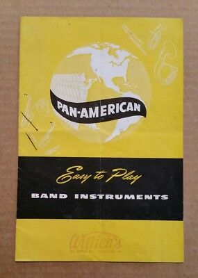 Pan-American Band Instruments,Elkhart,IN.,Catalog,1949
